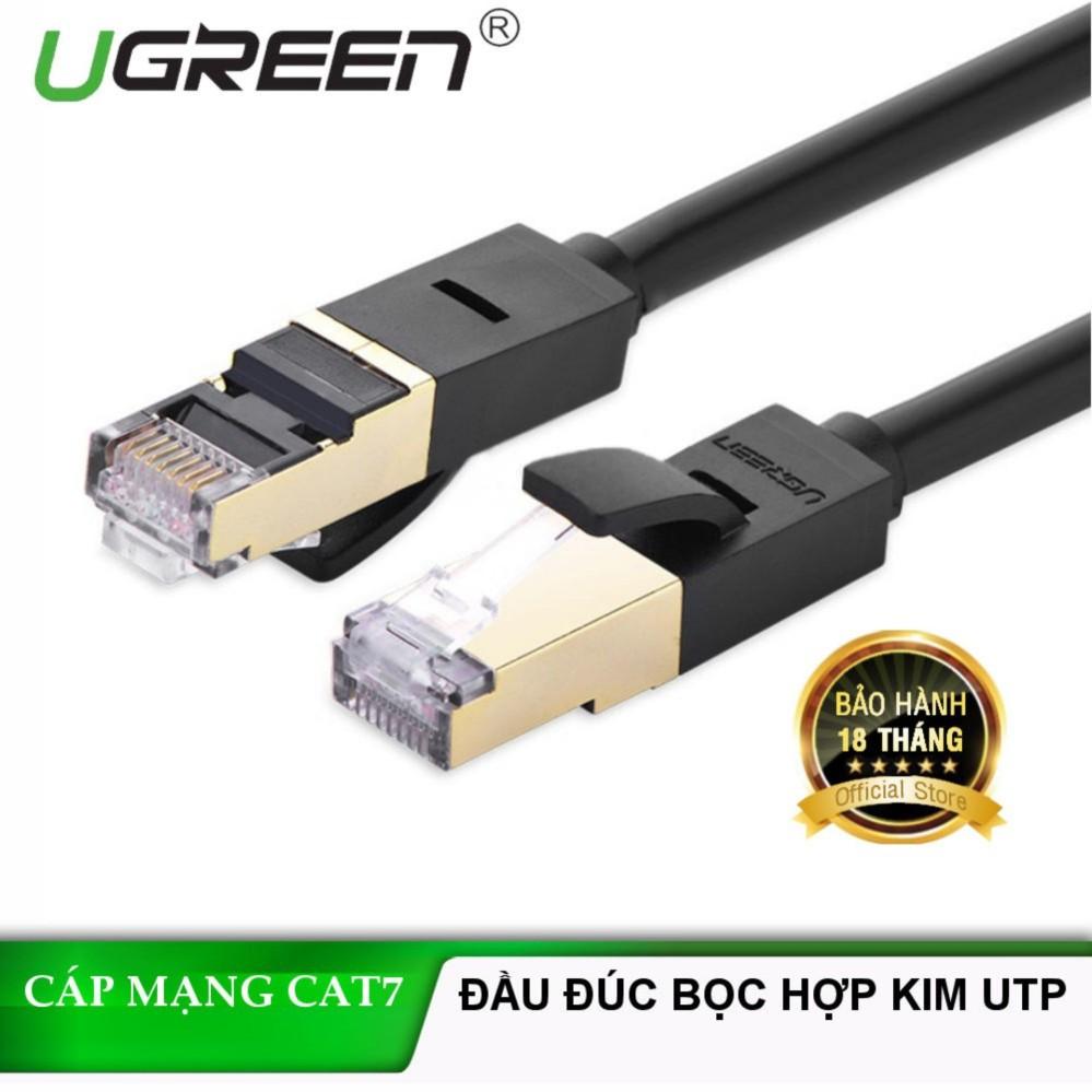 Cáp mạng 2 đầu đúc bọc hợp kim Cat7 UTP chính hãng UGREEN NW107