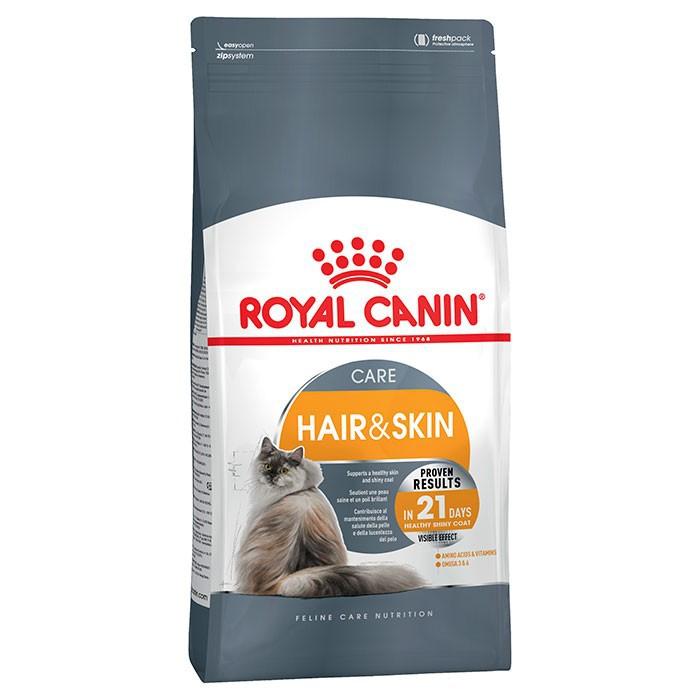 Thức ăn hạt cho mèo Hair&Skin Care chăm sóc da và lông - 2kg