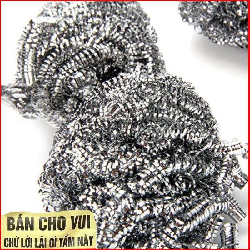 (ẢNH TỰ CHỤP)  Kit 2 Cọ Xoong Và 1 Bông Lau CDS1043
