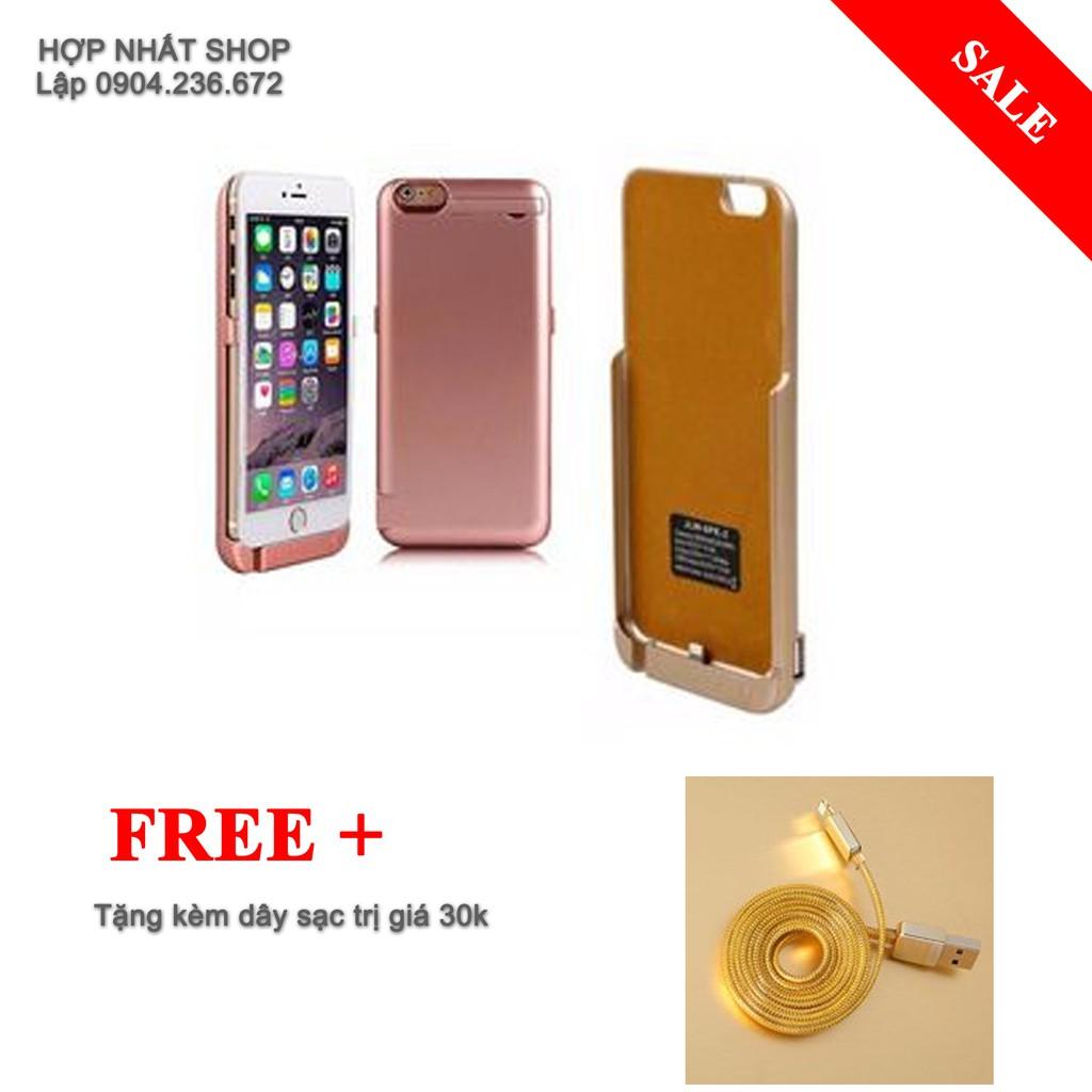Ốp lưng kiêm pin sạc dự phòng iPhone 6 ,6s +day sạc ip - 2870542 , 372294574 , 322_372294574 , 155000 , Op-lung-kiem-pin-sac-du-phong-iPhone-6-6s-day-sac-ip-322_372294574 , shopee.vn , Ốp lưng kiêm pin sạc dự phòng iPhone 6 ,6s +day sạc ip
