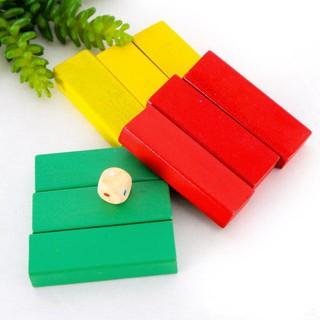[SHIP THẦN TỐC] Bộ đồ chơi rút gỗ 48 thanh màu