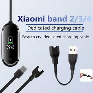Dây cáp USB sạc pin truyền dữ liệu dành cho đồng hồ Xiaomi Mi Band 2 3 4 thumbnail