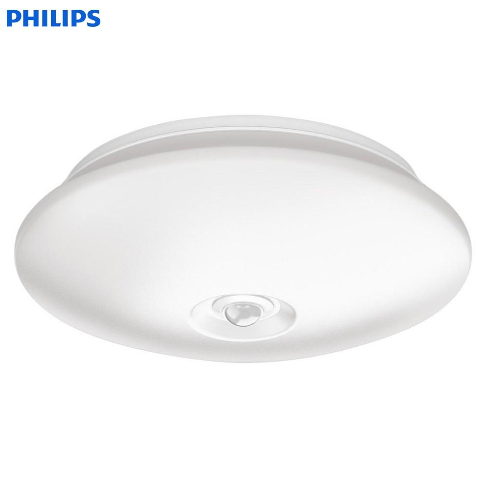 Đèn ốp trần cảm biến thông minh Philips 62233 Danta 65K / 27K Sensor LED 6W