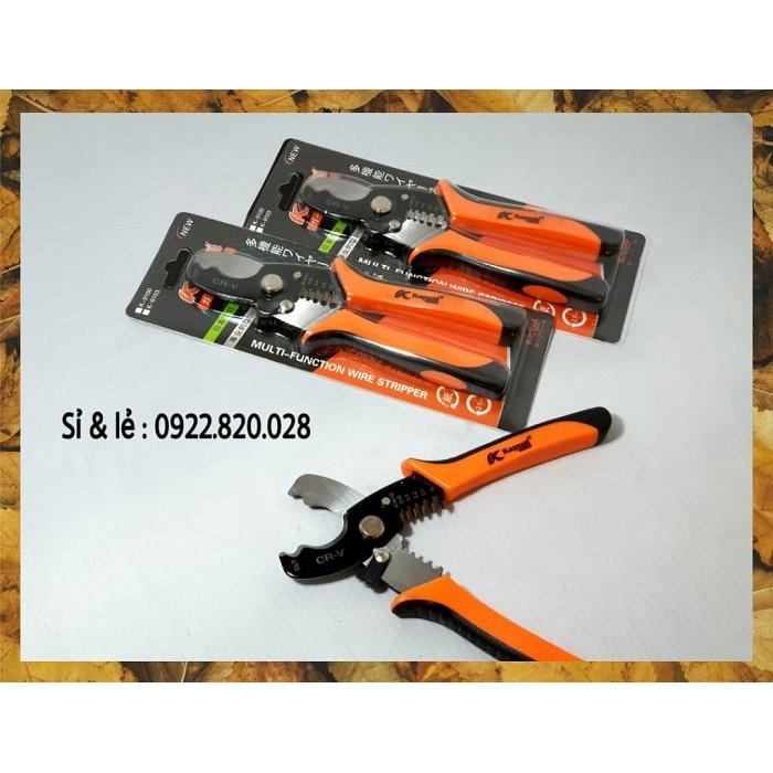 Kapusi- Kiềm tuốt dây điện cao cấp 8 inch
