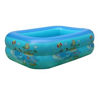 Bể bơi chữ nhật 120 x 85 x 35cm ( tặng kèm 50 bóng )
