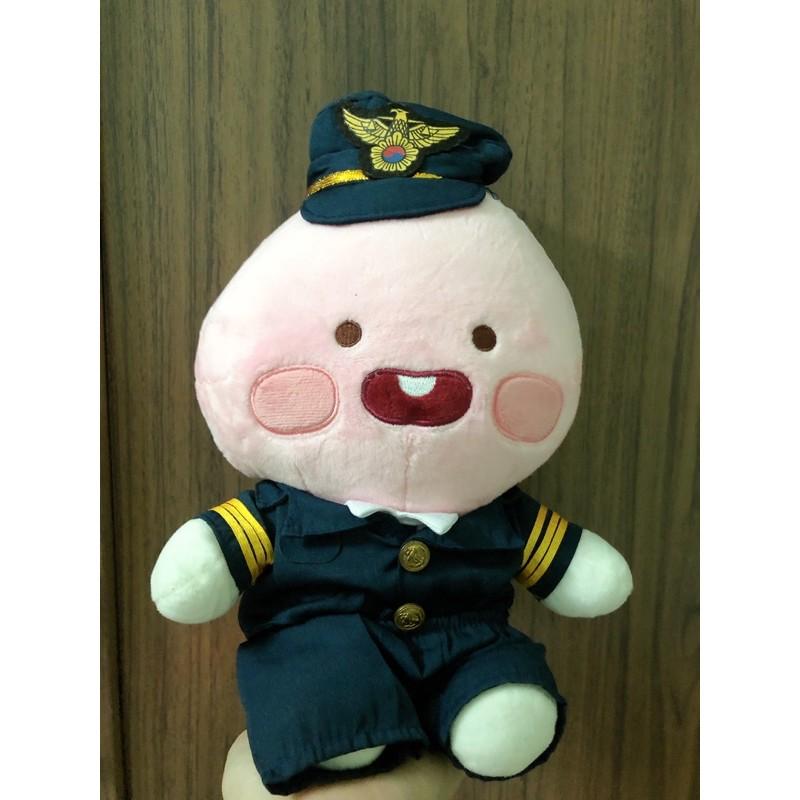 [Apeach Kakao friends] gấu bông đào lính hải quân