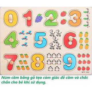 [HOT] Bảng 10 số tập đếm núm gỗ 020 – RẺ NHẤT VN