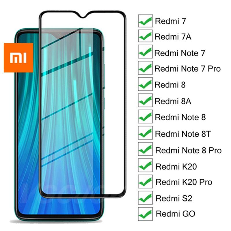 Kính cường lực bảo vệ màn hình cho Xiaomi Mi Redmi NOTE 8 9 3 4X 5 4A 5A 6 6A 7 7A S2 K20 K30 8A 8T 9T Pro PLUS A2 lite
