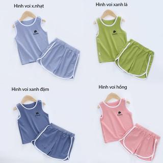 [Mã KIDMALL12 hoàn 15% xu đơn 150K] Set bộ quần áo ba lỗ cho bé trai bé gái ( từ 1 - 8 tuổi) VEMZKIDS 7 mẫu mới thumbnail