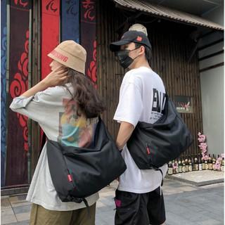 Túi Đeo Chéo Canvas Cỡ Lớn Thời Trang Hàn Quốc Học Sinh Sinh Viên Đi Học , Đi Chơi hàng Quảng Châu chống nước thumbnail