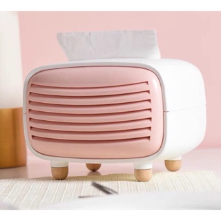 Hộp giấy ăn radio – Hộp đựng khăn giấy khử mùi