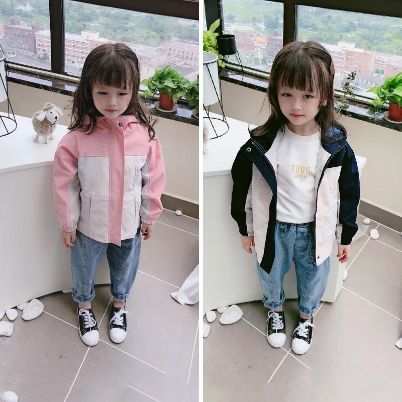 áo khoác có mũ trùm với màu sắc tương phản dùng cho trẻ nhỏ - 22703406 , 7303267351 , 322_7303267351 , 470300 , ao-khoac-co-mu-trum-voi-mau-sac-tuong-phan-dung-cho-tre-nho-322_7303267351 , shopee.vn , áo khoác có mũ trùm với màu sắc tương phản dùng cho trẻ nhỏ