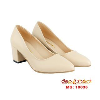 Giày cao gót 5cm mũi nhọn big size MS 503