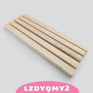 Curiosity 5pcs/set 330mm Strips Wood Sticks for Building DIY Crafts Photo Props Accs