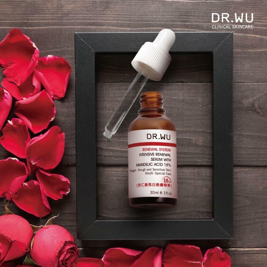 Image result for Dr.Wu Intensive Renewal Serum With Mandelic Acid 18%