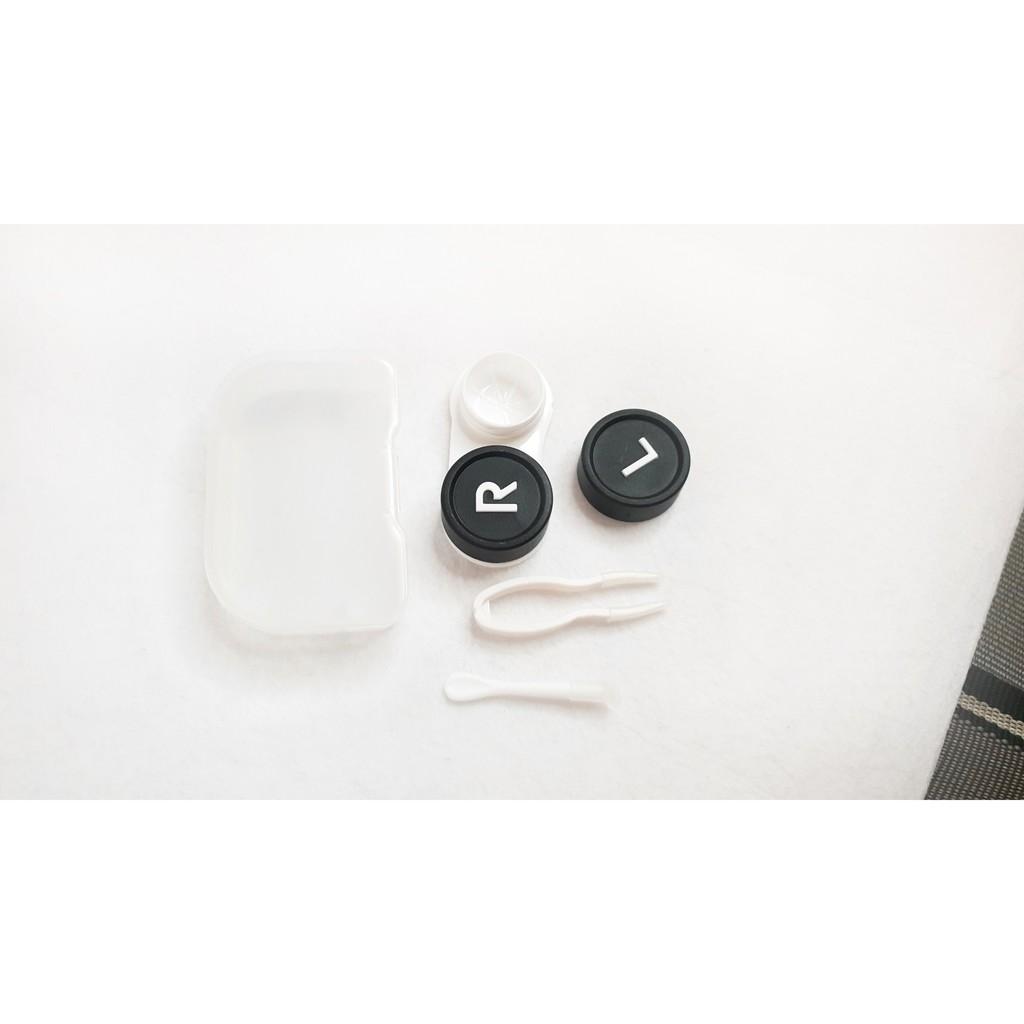 Full bộ dụng cụ đeo lens ( khay + cây gắp + cây đeo)