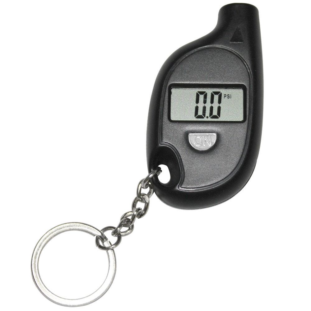 Đồng hồ đo áp suất lốp xe ô tô hiển thị màn hình kỹ thuật số chuyên dụng