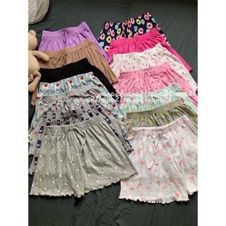 Quần đùi nữ mặc ở nhà chất quần cotton co giãn quần ngủ mặc ở nhà thoải mái