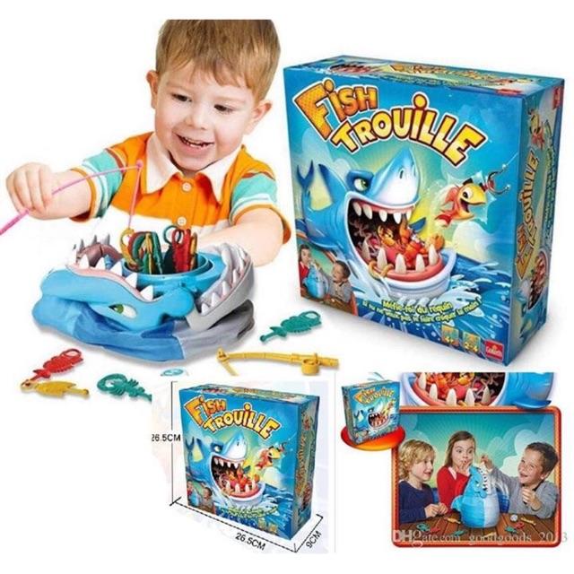 Fish trouille game- đừng đánh thức cá mập