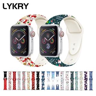 Dây Đeo Thay Thế LYKRY Cho Đồng Hồ Thông Minh Apple Watch 44mm 40mm 38mm 42mm thumbnail
