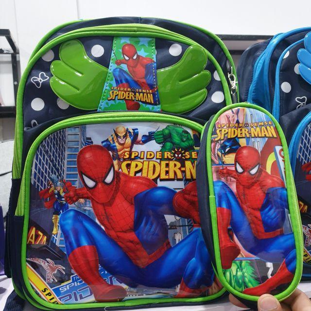 Cặp học sinh người nhện, cặp công chúa, cặp hoc sinh tiểu học cao cấp