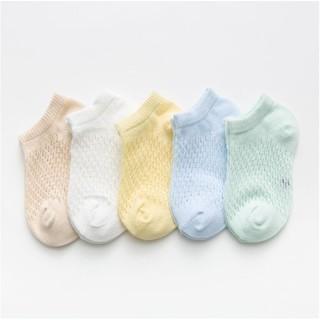 Set 5 đôi tất lưới COTTON cho bé sơ sinh đến 3 tuổi bé trai, bé gái/ FREESHIP đơn từ 150k Set 5 Đôi Tất Lưới Hè Thu