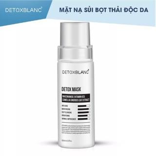 Mặt nạ sủi bọt thải độc than hoạt tính DetoxBlanc Mask thumbnail
