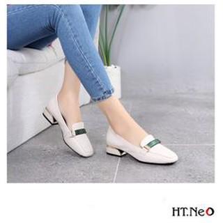 Giày nữ - giày công sở nữ HT.NEO da thật 100% nguyên miếng siêu mềm siêu êm chân phối đồ cực dễ, cực đẹp NU45 thumbnail