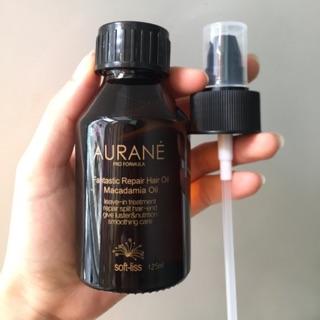 (Chính Hãng Giá Sỉ) Tinh Dầu Bóng Dưỡng Tóc Soft-Liss Aurane Moroccan Argan Oil 125ML thumbnail