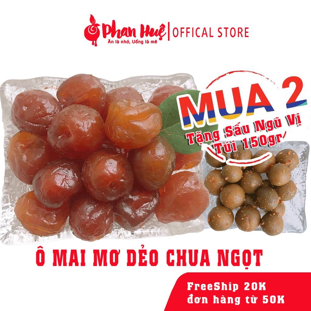 Ô mai xí muội mơ dẻo chua ngọt Phan Huệ đặc biệt, mơ miền Bắc chọn lọc, đặc sản Hà Nội