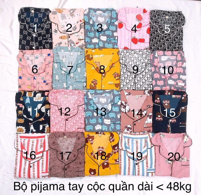 Nhập WAPCK111 giảm 25k đơn từ 200k - bộ Pijama tay ngắn quần dài | SaleOff247