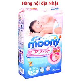 (Cộng miếng)Bỉm Dán Quần Moony nội địa Nhật, Japan Authentic các size NB90 6 S84 6 M64 4 L54 4...