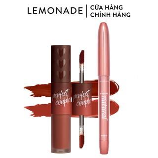 Combo Lemonade Son Perfect Couple Lip Fashionistar 8g và Bút kẻ mắt SuperNatural Eyeliner 1g thumbnail