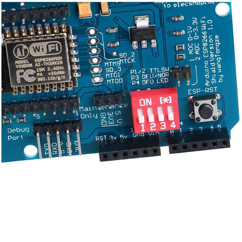 ESP-12E ESP8266 UART WIFI Wireless Shield Development Board