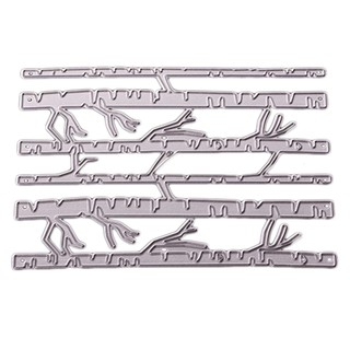 Christmas Trees Branch Cutting Dies Stencils Embossing Tool