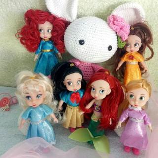 Set 6 búp bê công chúa Disney – Hàng nhập khẩu