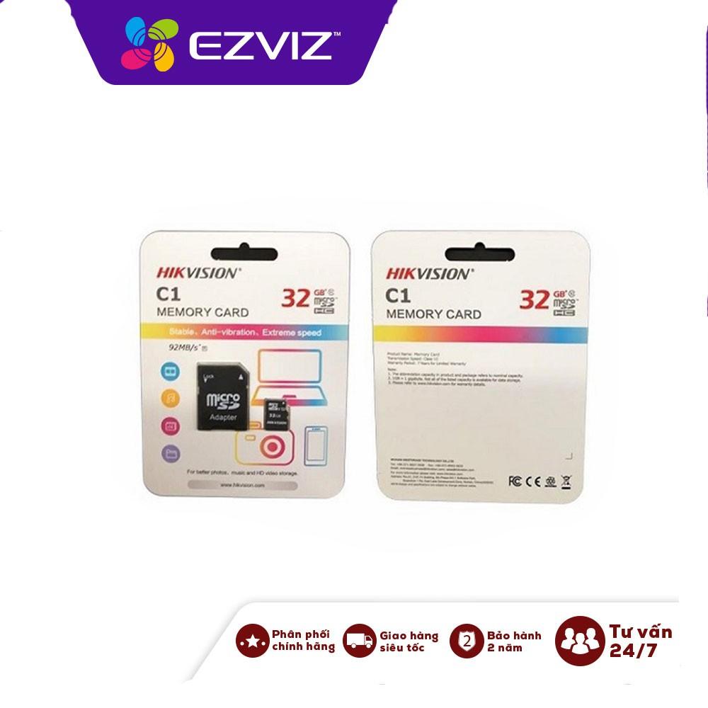 Thẻ nhớ HIKVISION 32GB Class 10- Chuyên dụng cho camera wifi
