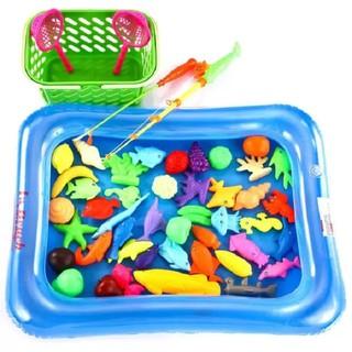 Bộ đồ chơi câu cá kèm bể phao cho bé