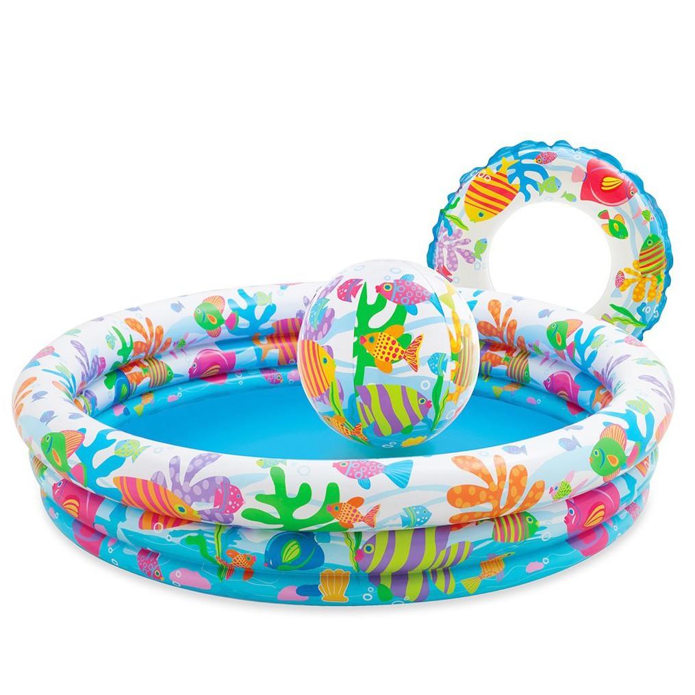 Bể bơi 3 chi tiết 3 tầng Intex (hàng nhập khẩu)