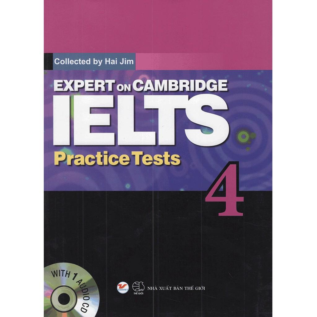 Sách - Expert On Cambridge Ielts Practice Tests 4 (Kèm CD)