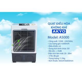 Quạt điều hòa inverter AKYO A5000 bảo hành 2 năm