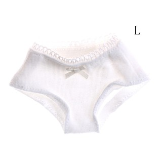 ☆VN 1/3 1/4 1/6 Solid White Underwear Briefs for BJD SD Dollfie Dolls Clothes