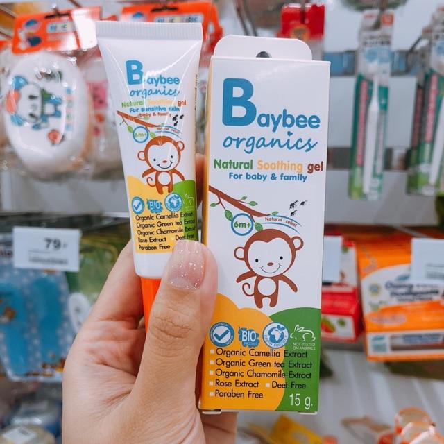 Kem đánh răng Organic cho bé từ 6 tháng tuổi