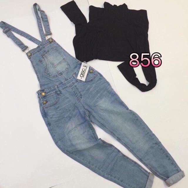 Quần yếm jean nữ thời trang - 2593498 , 1082750720 , 322_1082750720 , 199000 , Quan-yem-jean-nu-thoi-trang-322_1082750720 , shopee.vn , Quần yếm jean nữ thời trang