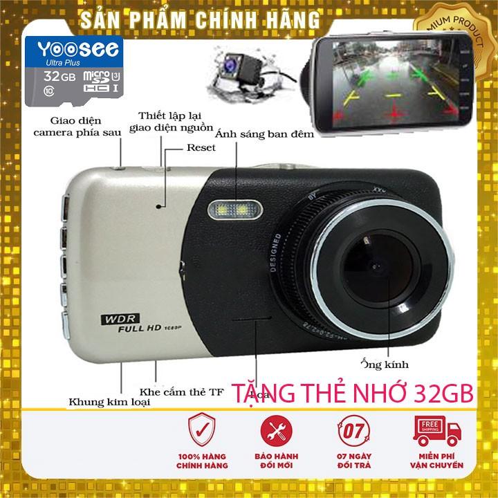 [kèm thẻ 32gb] camera hành trình giám sát dùng cho oto x002 camera ô tô,camera lùi