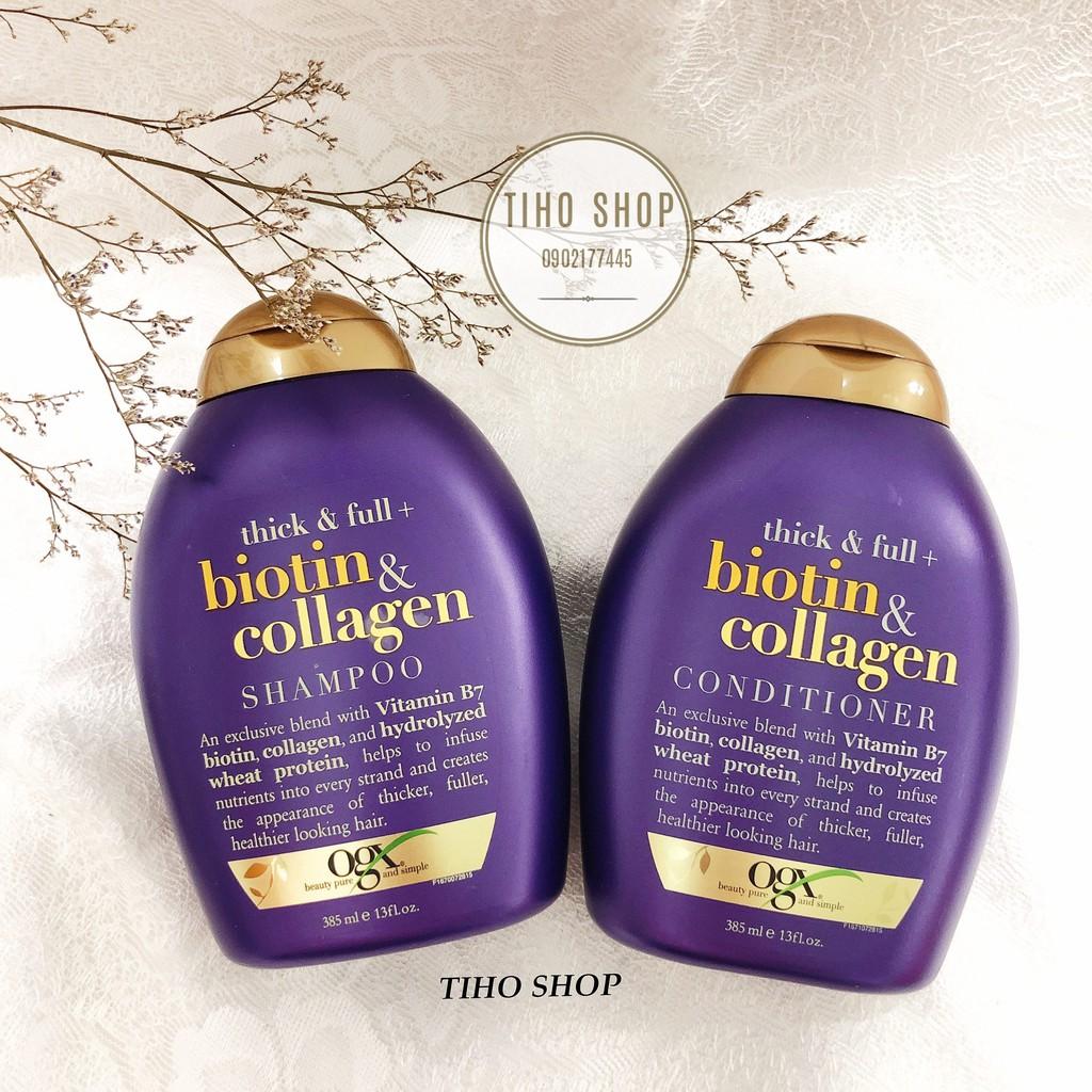 [ Chính Hãng ] Bộ dầu gội, xả Biotin và Collagen chống rụng tóc ,kích thích mọc tóc 385ml - 3373361 , 668594906 , 322_668594906 , 255000 , -Chinh-Hang-Bo-dau-goi-xa-Biotin-va-Collagen-chong-rung-toc-kich-thich-moc-toc-385ml-322_668594906 , shopee.vn , [ Chính Hãng ] Bộ dầu gội, xả Biotin và Collagen chống rụng tóc ,kích thích mọc tóc 385ml