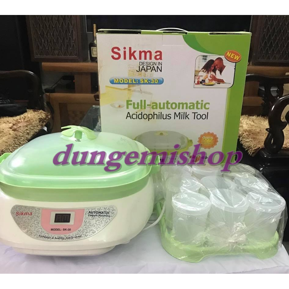 Máy làm sữa chua Sikma 9 cốc SK-30 - 3192714 , 1128092039 , 322_1128092039 , 530000 , May-lam-sua-chua-Sikma-9-coc-SK-30-322_1128092039 , shopee.vn , Máy làm sữa chua Sikma 9 cốc SK-30