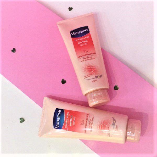 [10X] Dưỡng Thể Trắng Da Vaseline Healthy White Perfect Serum 10X Hàng Thái Lan