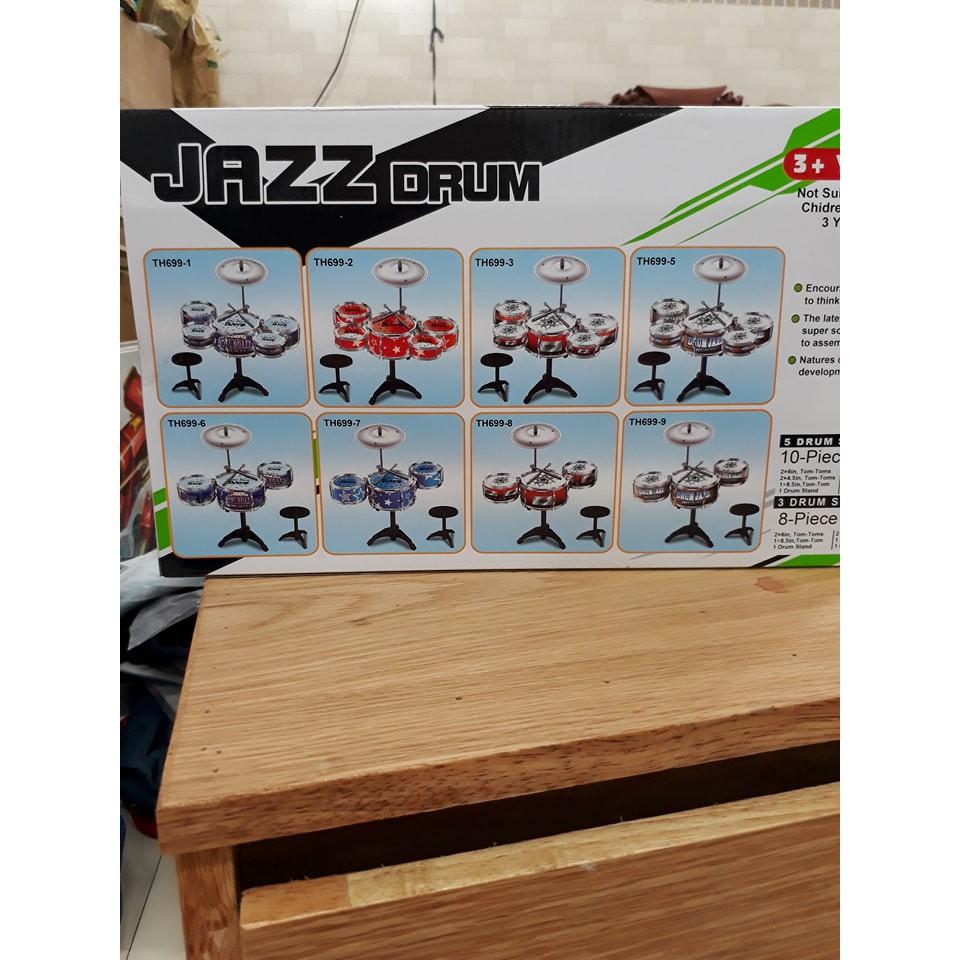 Bộ trống Jazz Drum 5 trống cho bé yêu