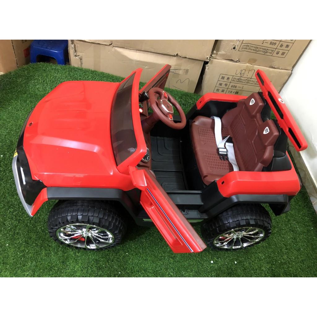 Ô tô điện trẻ em cao cấp KIỂU DÁNG ĐỊA HÌNH CỠ LỚN Model BY-666, 2 chỗ ngồi, 4 động...